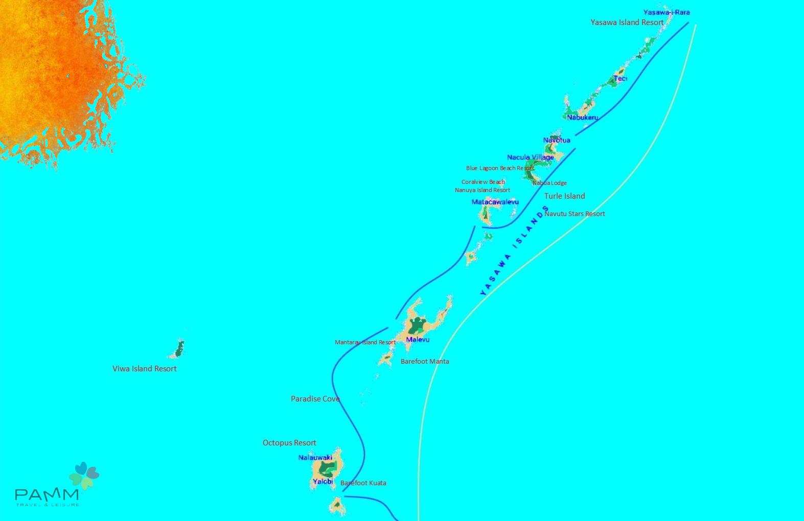 Isole Yasawa Fiji Resort e Lodge