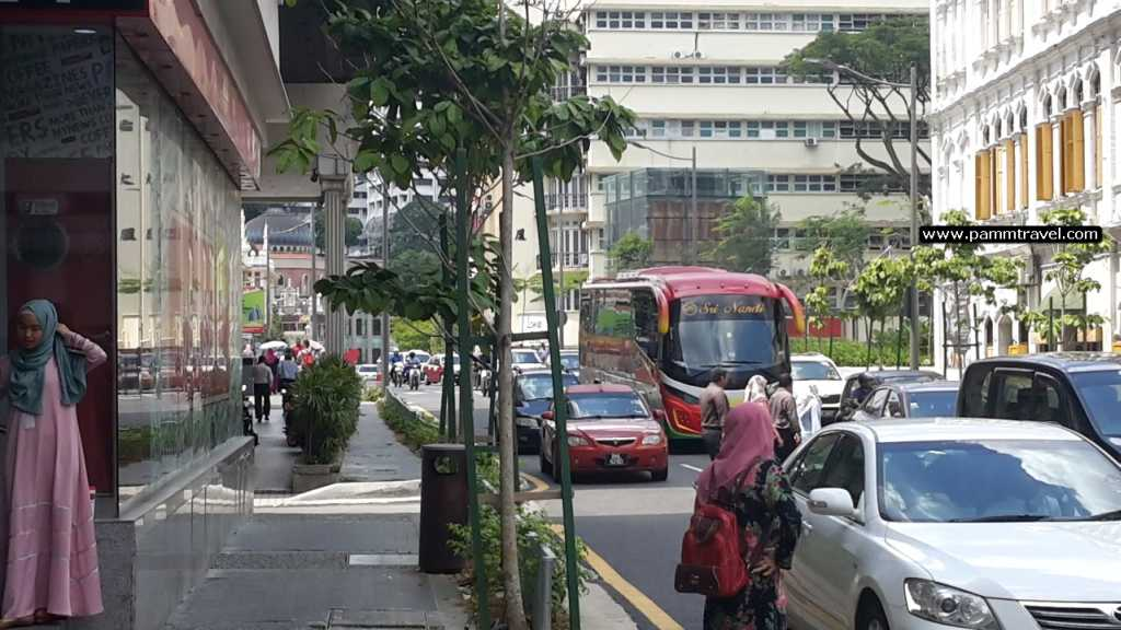 a spasso tra le strade di Kuala Lumpur pamm travel