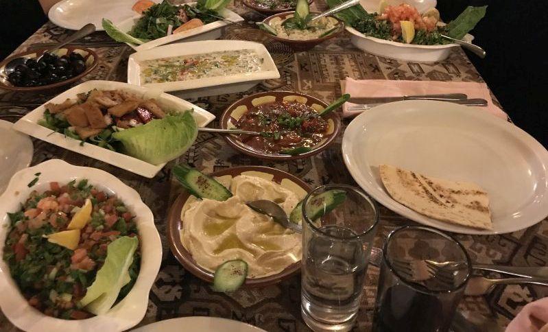 Mangiare in Giordania