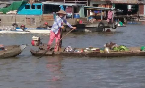Can Tho Mercato sul Mekong Pamm Travel