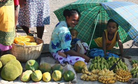mercato in Madagascar Pamm Travel